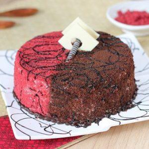 Red Valvet Twist Cake