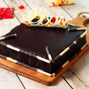 Chocolate Square Cake1 KG
